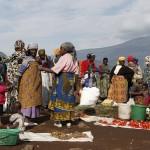 Morning market Rwanda